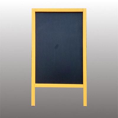 "Штендер меловый двусторонний ""Ярко желтый"" (фото, вид 1)"