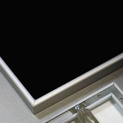 """Магнитная меловая доска в рамке """"Nelsen"""" (серебристый аллюминий) (фото, вид 1)"""