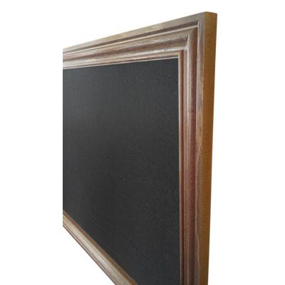 """Меловая доска в багетной деревянной рамке """"Эспрессо"""" (фото, вид 1)"""