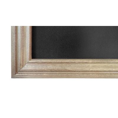 """Меловая доска в багетной деревянной рамке """"Эспрессо"""" (фото, вид 2)"""