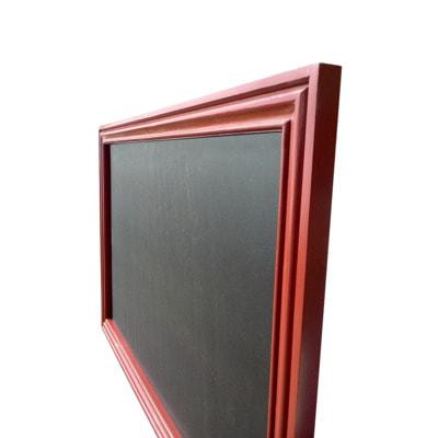 """Меловая доска в деревянной багетной рамке """"Вишня"""" (фото, вид 1)"""