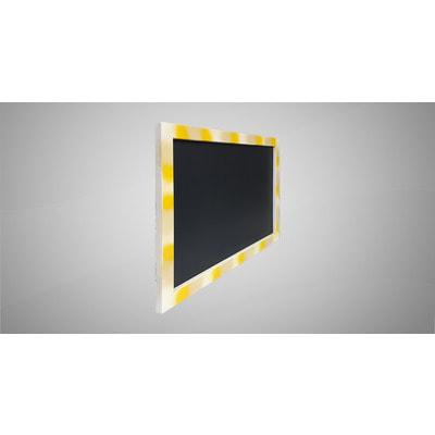 Меловая доска для рисования в цветной рамке (фото, вид 1)