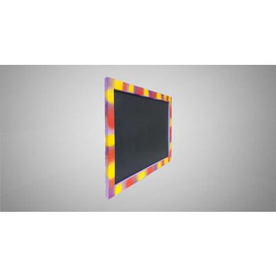 Магнитная меловая доска в цветной рамке № 2 (фото, вид 1)