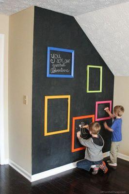 """Магнитная Детская доска для рисования """"Классик"""" (фото, Детская Магнитная доска для рисования и творчества"""