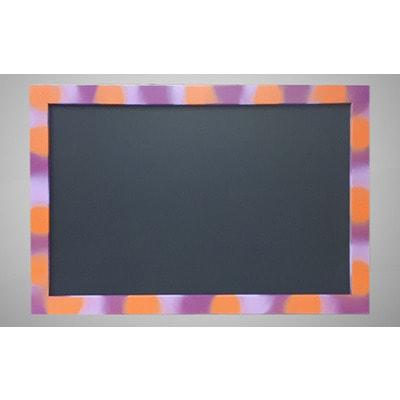 Меловая доска для рисования в цветной рамке