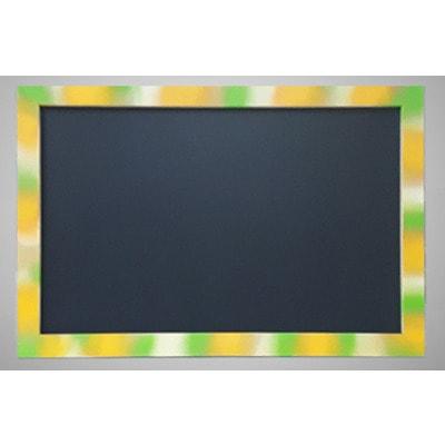 Меловая доска для рисования в цветной рамке (фото)