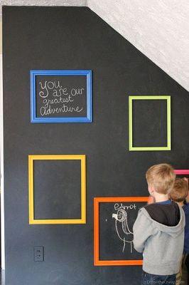 """Магнитная Детская доска для рисования """"Классик"""" (фото, Детская доска для рисования магнитная"""