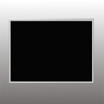 """Магнитная меловая доска в рамке """"Nelsen"""" (серебристый аллюминий) (фото)"""