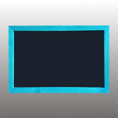 """Мелово-Маркет Меловая доска в рамке """"Синяя глазурь"""""""