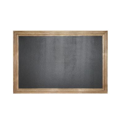 """Меловая доска в багетной деревянной рамке """"Эспрессо"""" (фото)"""