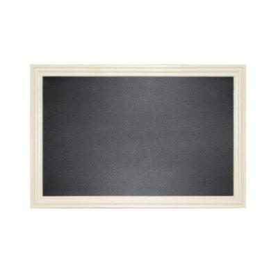 """Меловая доска в багетной деревянной рамке """"Бежевая"""" (фото)"""