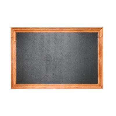 """(Грифельная)- Магнитная меловая доска в багетной деревянной рамке """"Дерево Вишня"""""""
