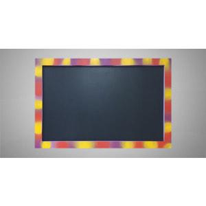 (Грифельная)- Меловая магнитная доска для рисования в цветной рамке