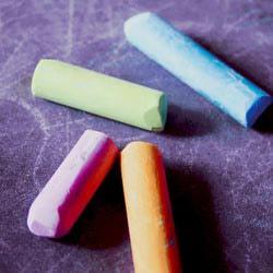 Мелки цветные круглые (12 штук)