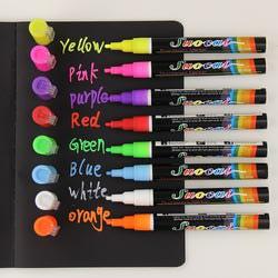 Меловые маркеры цветные (8 шт.)