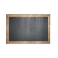 """Магнитная меловая доска в багетной деревянной рамке """"Эспрессо"""""""