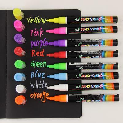 Меловые маркеры (упаковка 8 цветов)