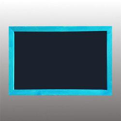 """Меловая доска в рамке """"Синяя глазурь"""""""